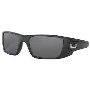 Oakley Standard Issue Fuel Cell Matte Black with Steel Flag / Black Iridium