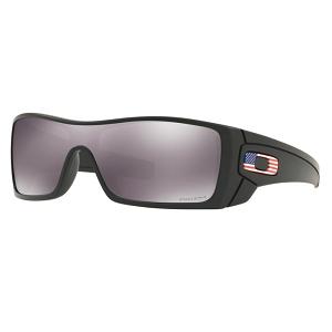 abdf25c3ab Oakley Standard Issue Batwolf Matte Black with USA Flag   Prizm Black