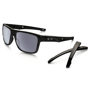 Oakley Crossrange Polished Black / Grey