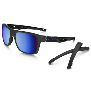 Oakley Crossrange Matte Dark Grey / Prizm Deep Water Polarized