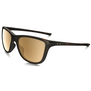 Oakley Reverie Matte Brown Tortoise / Tungsten Iridium Polarized