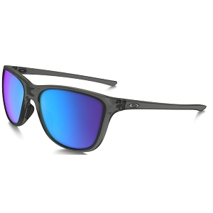 Oakley Reverie Grey Smoke / Sapphire Iridium Polarized