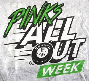 PINKS All Out Week Ash Grey Tee