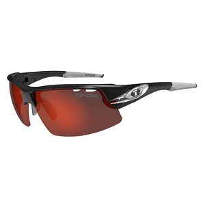 Tifosi Crit Race Silver / Clarion Red, AC Red, Clear