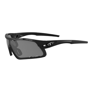 Tifosi Davos Matte Black / Smoke, AC Red, Clear