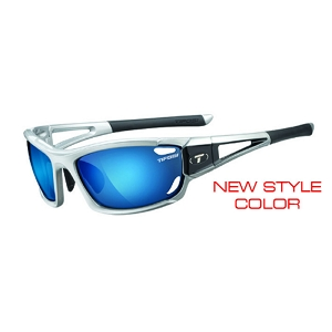 Tifosi Dolomite 2.0 Metallic Silver / Clarion Blue, AC Red, Clear