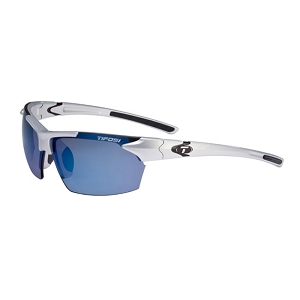 Tifosi Jet Metallic Silver / Smoke Blue