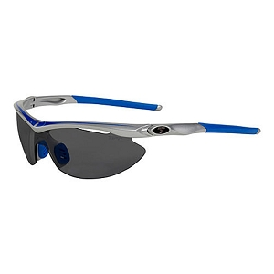 Tifosi Slip Race Blue / Smoke, AC Red, Clear