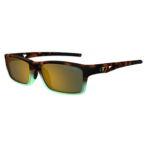 Tifosi Watkins Matte Blue Tortoise / Brown Polarized