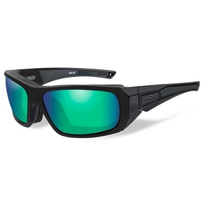 Wiley X Enzo Matte Black / Polarized Emerald Mirror