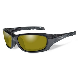 Wiley X Gravity Black Crystal / Polarized Yellow