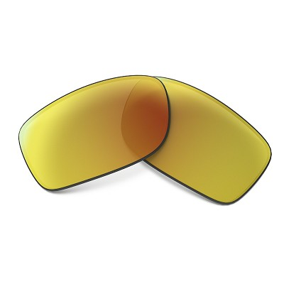Oakley Fives Squared Fire Iridium Replacement Lens