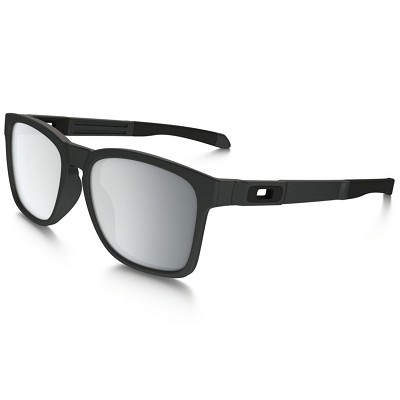 Oakley Catalyst Steel / Chrome Iridium