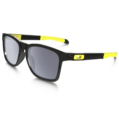 Oakley Catalyst Valentino Rossi Signature Series Polished Black / Grey