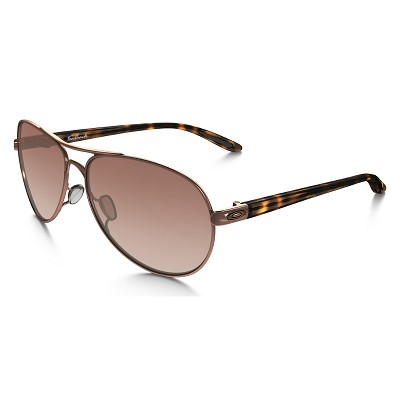 Oakley Feedback Rose Gold / VR50 Brown Gradient