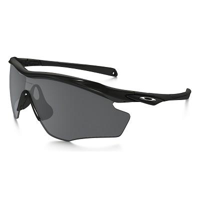 Oakley M2 Frame XL Polished Black / Black Iridium Polarized