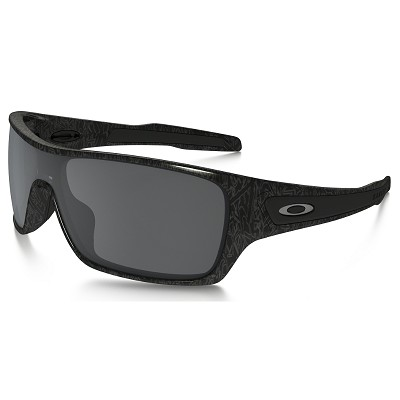Oakley Turbine Rotor Ghost Text / Black Iridium