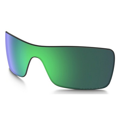Oakley Batwolf Jade Iridium Polarized Replacement Lens