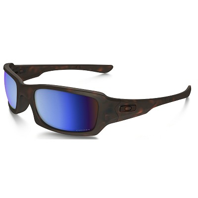 Oakley Fives Squared Matte Tortoise / Prizm Deep Water Polarized