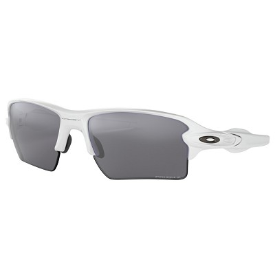 Oakley Flak 2.0 XL Polished White / Prizm Black Polarized