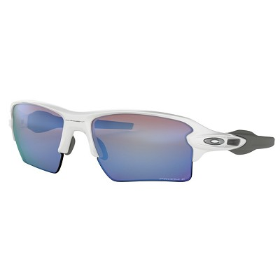 Oakley Flak 2.0 XL Polished White / Prizm Deep Water Polarized