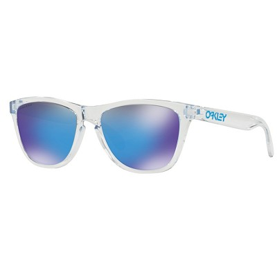 Oakley Frogskins Crystal Clear / Prizm Sapphire